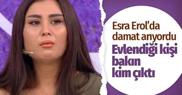 Esra Erol'da koca arayan kızın evlendiği kişi bakın kim çıktı