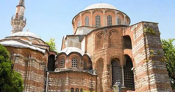 İstanbul'daki Kariye Camii ibadete açılıyor!