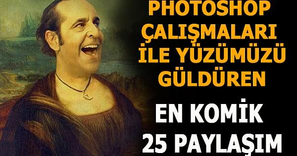 Photoshop Çalışmalarıyla Yüzümüzü Güldüren En Komik 25 Paylaşım