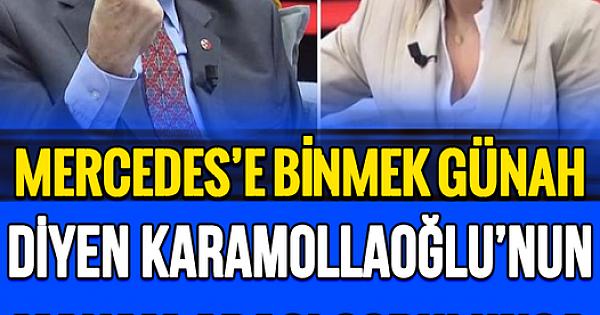 """Temel Karamollaoğlu makam aracı eleştirisi yaptı! """"Ne olmuş Renault'a binse?"""" dedi,"""