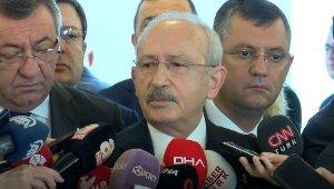 Kılıçdaroğlu: Acı günde bari kavga etmeyelim