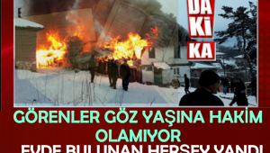 Yangın çıkan evde yanmamış halde iki Kur'an-ı Kerim bulundu
