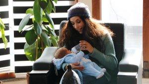 Eski sevgilisini 7 aylık bebeğini düşürmesi için dövdürdü, tahliyesini istedi