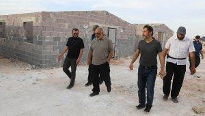 İdlib'deki 'briket ev' hedefi 20 bine çıkarıldı