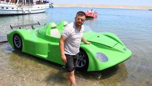 30'uncu deniz otomobili, denize indirilip test edildi