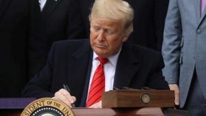 ABD Başkanı Trump O Kritik İmzayı Attı ...