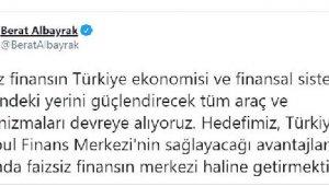 Bakan Albayrak: Hedefimiz, Türkiye'yi faizsiz finansın merkezi haline getirmek