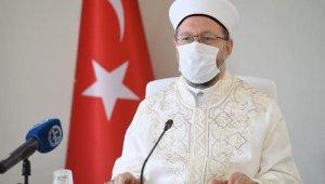 Erbaş: İslamofobik saldırılarla mücadele edeceğiz