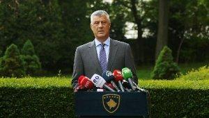 Kosova Cumhurbaşkanı Thaçi ve 9 kişiye 'savaş suçu' davası