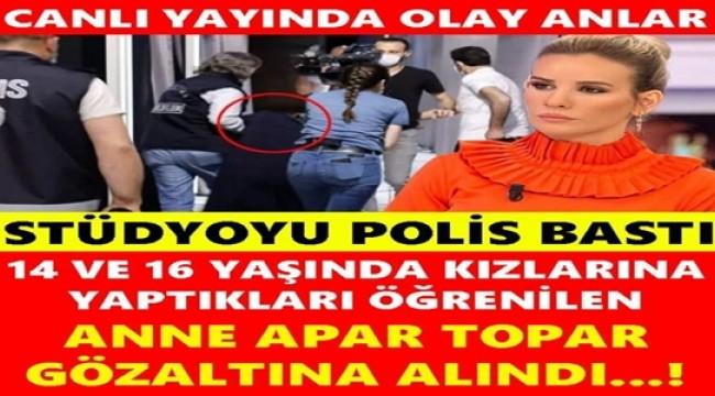 STÜDYOYU POLİS BASTI