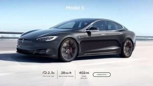 Tesla Model S'in menzil rekoru resmileşti
