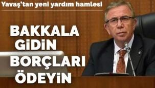 Ankara Büyükşehir Belediye Başkanı Yavaş'tan yeni yardım kampanyası!