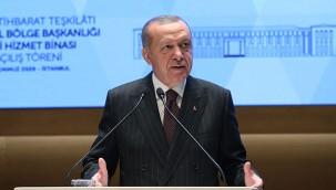 Cumhurbaşkanı Erdoğan MİT İstanbul Bölge Başkanlığı Hizmet Binasını açtı