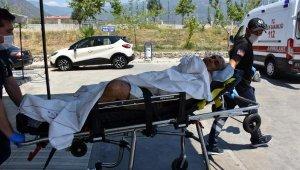 Elektrik sayacı okuyan görevli iki pitbullun saldırısına uğradı