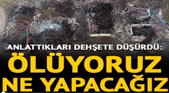 Havai fişek fabrikasında çalışan Nahide Cancı yaşadığı dehşeti anlattı