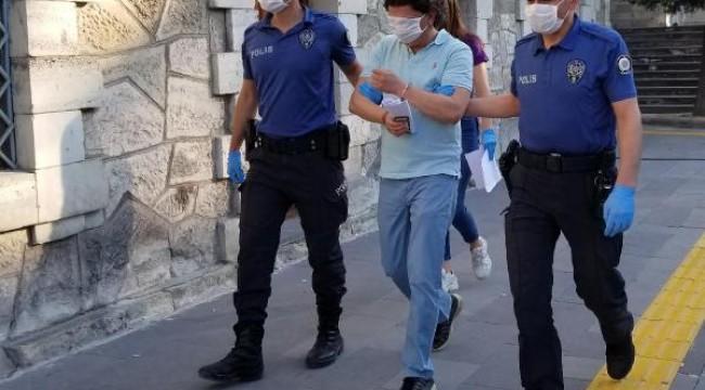 Kocasının döverek odaya kilitlediği kadını polis kurtardı