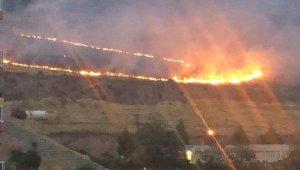 Orman yangını kısa sürede kontrol altına alındı