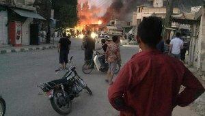 Telabyad'da bombalı araç patladı: 3'ü çocuk, 6 ölü, 15 yaralı
