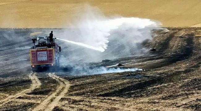 Yozgat'ta, 150 dekar hububat ekili alan yandı