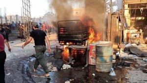 Afrin'de bombalı araç patladı: 5 ölü, 22 yaralı