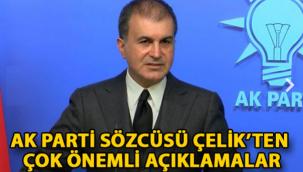 AK Parti Sözcüsü Çelik: İstikşafi görüşmeler başlayabilir