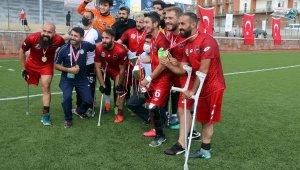 Ampute Futbol Türkiye Kupası'nda şampiyon Etimesgut Belediyesi
