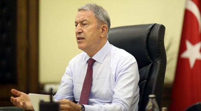 Bakan Akar: Kıbrıs bizim milli meselemiz