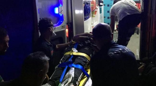 Bisikletle ırmağa düşen 13 yaşındaki çocuk kurtarıldı