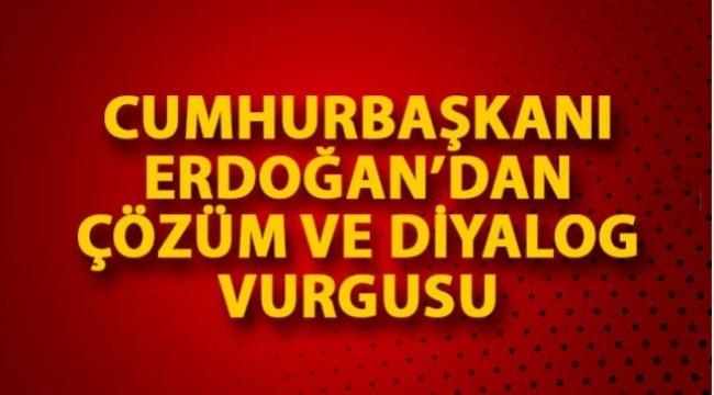 Cumhurbaşkanı Erdoğan Twitter'dan açıklama yaptı