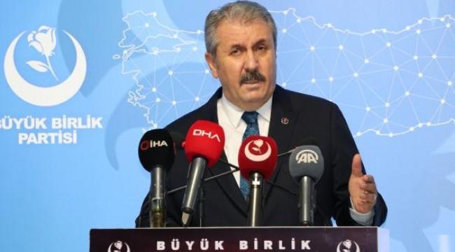 Destici: Türkiye, bize ait adalara Yunan ziyaretine izin vermeme yönünde adım atmalı