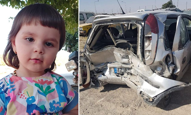 Ehliyetsiz ve alkollü sürücünün neden olduğu kazada yaralanan Küçük Aybüke hayatını kaybetti
