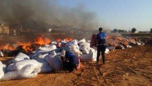 Gaziantep'de 7,5 ton küflenmiş biber imha edildi