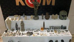 Hatay ve Şanlıurfa'da tarihi eser operasyonu: 3 gözaltı