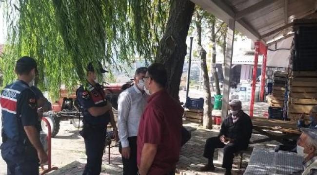 Jandarmadan koronavirüs tedbirlerine uymayanlara ceza