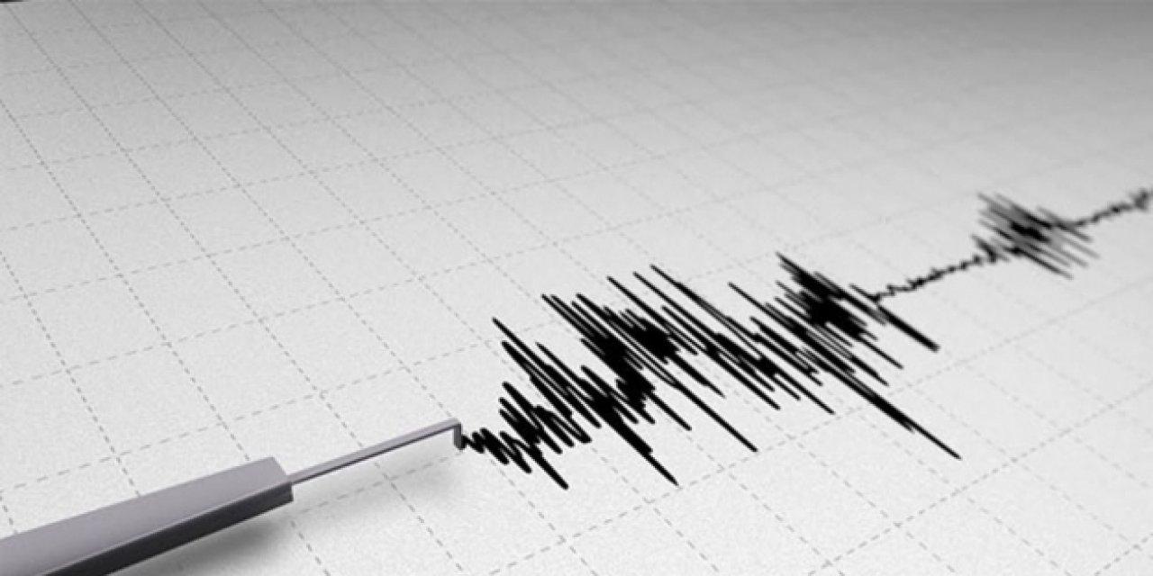 Konya'da Deprem oldu