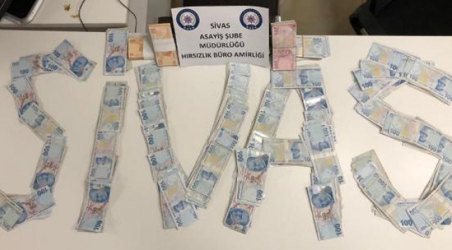 Malatya'da otomobilden para çalan şüpheliler Sivas'ta yakalandı