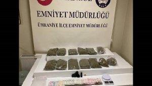 Sancaktepe ve Ümraniye'de uyuşturucu operasyonu: 2 gözaltı