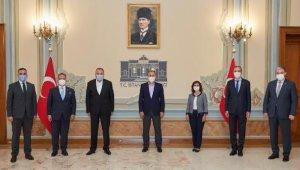 Vali Ali Yerlikaya, iş dünyası temsilcileriyle bir araya geldi