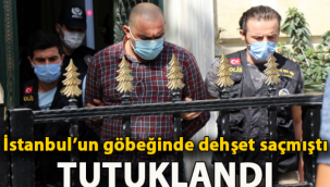 Beyoğlu'ndaki kalaslı saldırgan tutuklandı