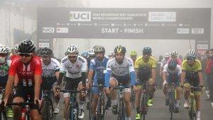 Dünya Dağ Bisikleti Maraton Şampiyonası başladı