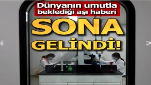 En yetkili kurumdan flaş koronavirüs aşısı açıklaması!