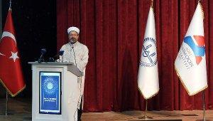 Erbaş: Kur'an'ın amacı iyi insanı yetiştirmek