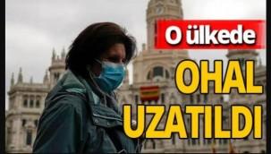 İspanya'da flaş koronavirüs kararı! OHAL 6 ay daha uzatıldı