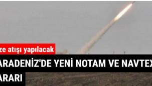Karadeniz'de yeni NOTAM ve NAVTEX kararı
