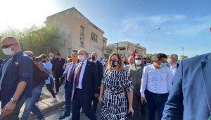 KKTC Başbakanı, 46 yıl sonra Kapalı Maraş'ta: Maraş dünya turizm merkezi olacak