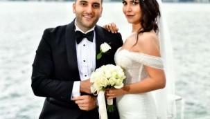 Masterchef Duygu Acarsoy ve Uğur Atun evlendi... İşte nikahtan ilk görüntüler