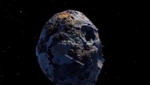 NASA, 10 bin katrilyon dolar değerindeki asteroidin üzerinde çalışma yaptı