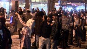 Ortaköy'de endişelendiren görüntüler