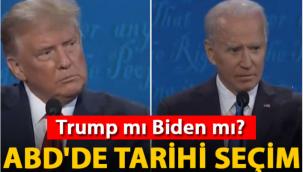 ABD'de tarihi seçim: Trump mı Biden mı?