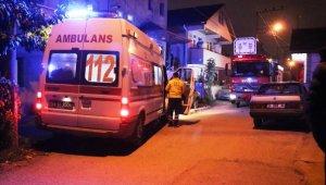 Karantina endişesiyle akrabalarının yanına giden aile polisi alarma geçirdi